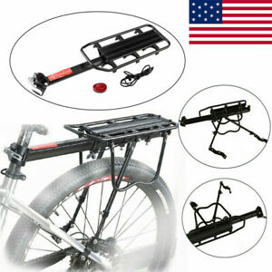 seatpost bicycle carrier and pannier