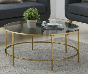 round coffee tables for sale ebay