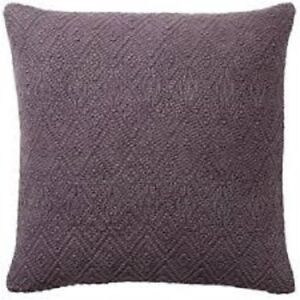 pottery barn purple pillow shams for
