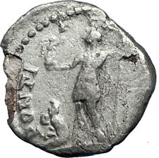 CARACALLA 199AD  Rome Silver Authentic Genuine Ancient Roman Coin i69860