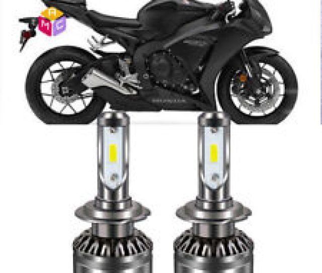 H7 Led Headlight Bulb Kit High Low Beam For Honda Cbr 1000rr 600rr F4i Rc51
