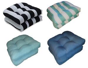 black striped patio furniture cushions