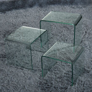 glass side table for sale ebay