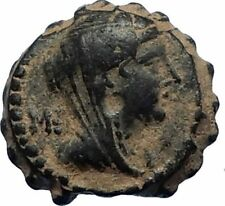 SELEUKOS IV Philopater 187BC Seleukid Ancient Greek Coin QUEEN LAODIKE IV i67677