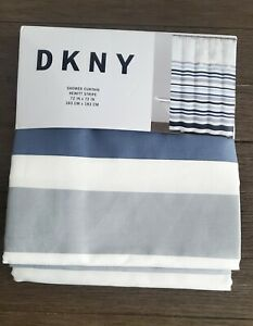 dkny striped shower curtains for sale
