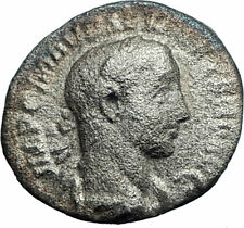 SEVERUS ALEXANDER 222AD Rome Authentic Silver Ancient Roman Coin Aequitas i77302