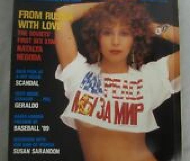Playboy Magazine May 1989 The Soviets First Sex Star Natalya Negoda