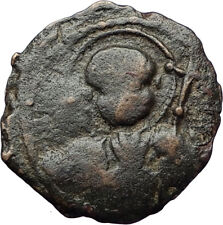 CRUSADERS of Antioch Tancred Ancient 1101AD Byzantine Time Coin St Peter i69541