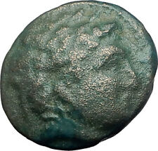 LYSIMACHOS 317BC Apollo OLYMPIC Horse of Philip II Ancient Greek Coin i63077