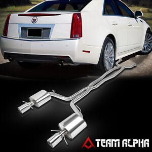 exhaust systems for 2014 cadillac cts