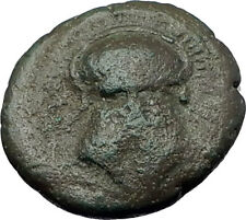 MESEMBRIA in THRACE 400BC Corinthian HELMET WHEEL Ancient Greek Coin i60972