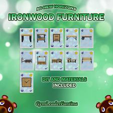 eBay on Ironwood Furniture Animal Crossing  id=40444