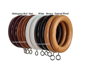 wooden curtain curtain rings for sale
