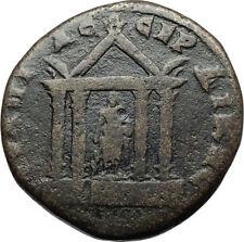 CARACALLA Authentic Ancient Serdica Thrace Roman Coin ASCLEPIUS TEMPLE i71056