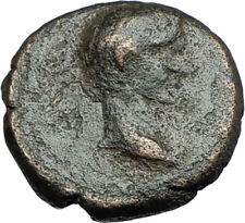 AUGUSTUS 27BC Philippi Macedonia PRIESTS Founding City Oxen Roman Coin i67880