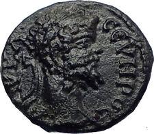 SEPTIMIUS SEVERUS 193AD Rare Authentic Ancient Roman Coin HOMONOIA  i73212