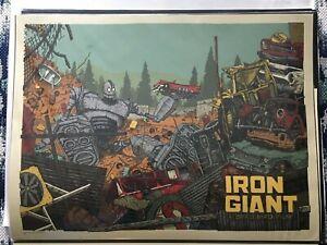 mondo iron giant in art prints for sale