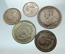 GROUP LOT of 5 Old SILVER Europe or Other WORLD Coins for your COLLECTION i75488
