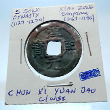 1163AD CHINESE Southern Song Dynasty Genuine XIAO ZONG Cash Coin of CHINA i72320