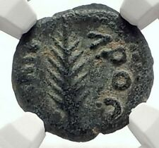 Biblical Jerusalem Saint Paul NERO PORCIUS FESTUS Ancient Roman Coin NGC i70642