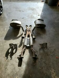 exhaust systems for kia stinger for