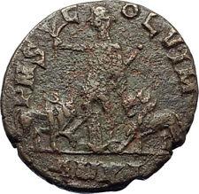 TRAJAN DECIUS 249AD Viminacium Ancient Roman Coin BULL & LION LEGIONS i70783
