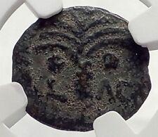 COPONIUS Prefect of Roman JERUSALEM under Augustus 6AD BIBLICAL Coin NGC i70865