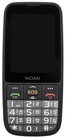 ᐉ Мобильные телефон NOMI i281+ Black — купить в Киеве и ...