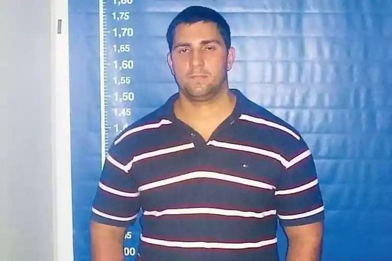 Adriano Nóbrega era considerado um dos chefes de um grupo que atuava em Rio das Pedras, no Rio(foto: Polícia Civil/Divulgação)