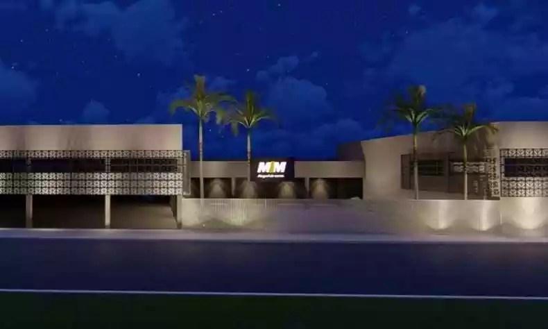 MM's new store in Ita