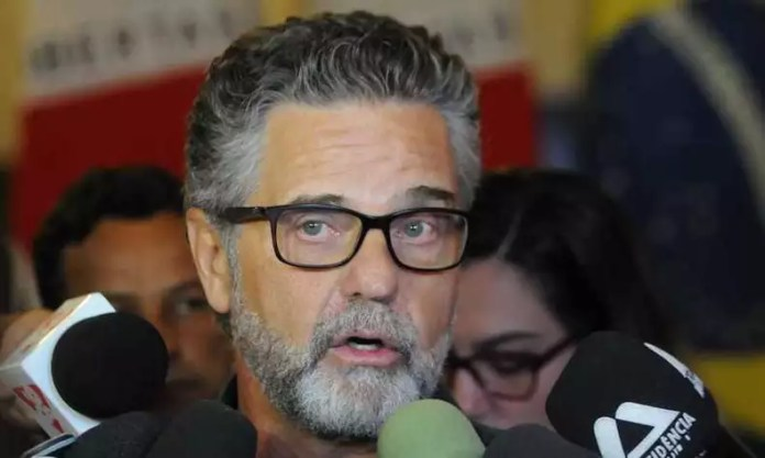 Superintendente da Sudecap, Henrique Castilho, falou a respeito das obras(foto: Juarez Rodrigues/Em/D.A. Press)