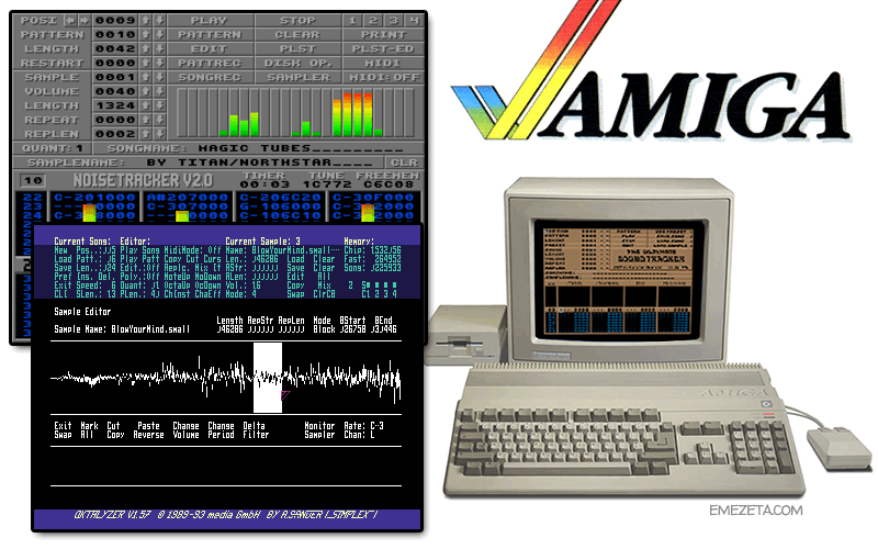 Trackers para Commodore Amiga