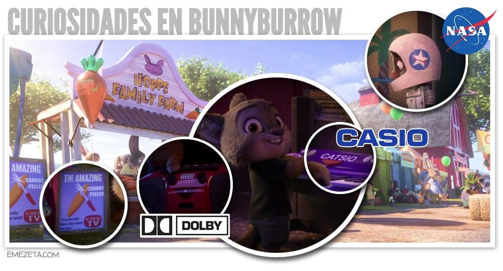 Curiosidades en BunnyBurrow