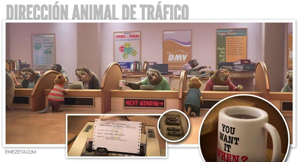 Dirección animal de Tráfico
