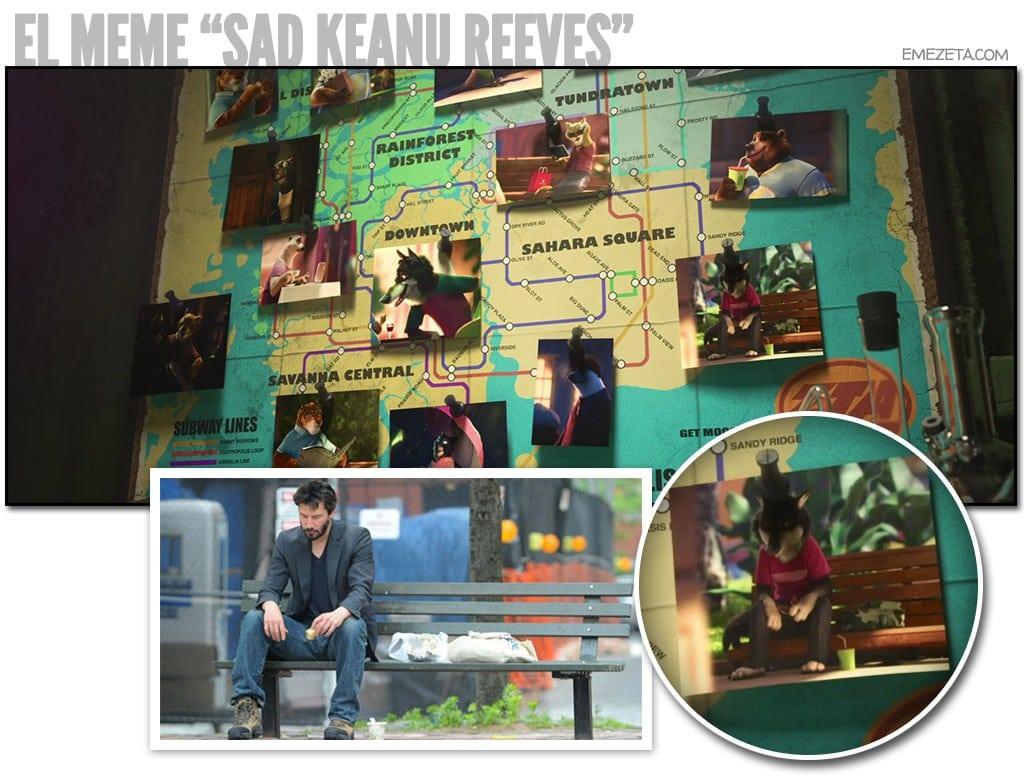 El meme de Sad Keanu Reeves