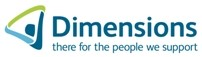 Dimensions provides support for people with learning disabilities and people with autism.