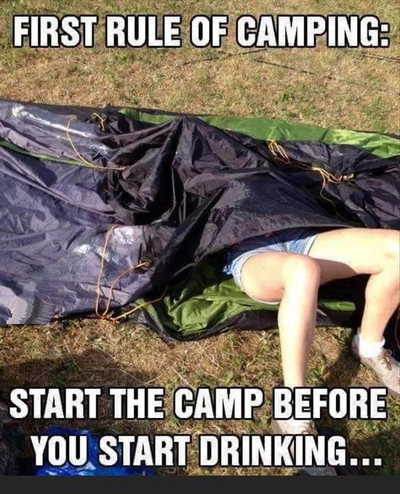 30 Funny Camping Quotes   EnkiQuotes Funny Quotes About Camping