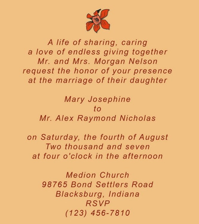 Wedding Invitations Quotes And Sayings