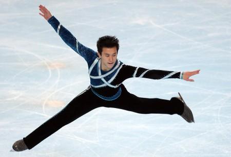 組圖:花樣滑冰 加國華裔小將陳偉群巴黎奪冠 | 大紀元