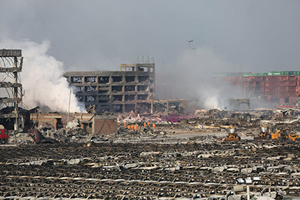 天津大爆炸 內部消息稱死亡至少1,400人 | 天津爆炸 | 死亡人數 | 大紀元