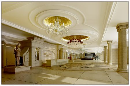张泽室内装修设计之一。