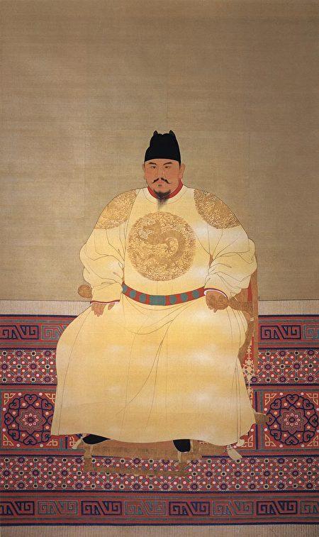 明太祖朱元璋像。(公有領域)