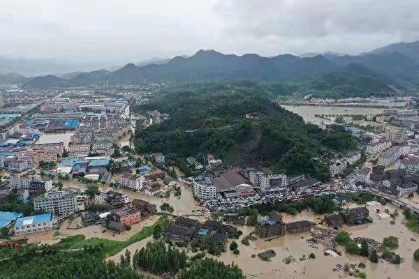 利奇馬颱風重創浙江 致32死16失聯