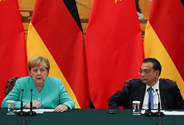 歐洲最強國力挺香港 中國柏林牆