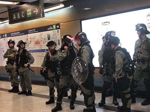 【更新中】9.8港人美領館請願 警狂射催淚彈