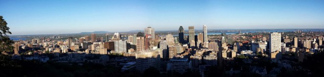 Montreal from Parc du Mont-Royal