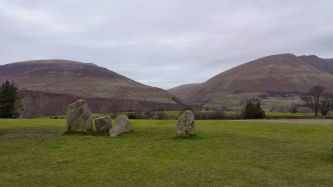 Part of the Castlerigg Stone Circle