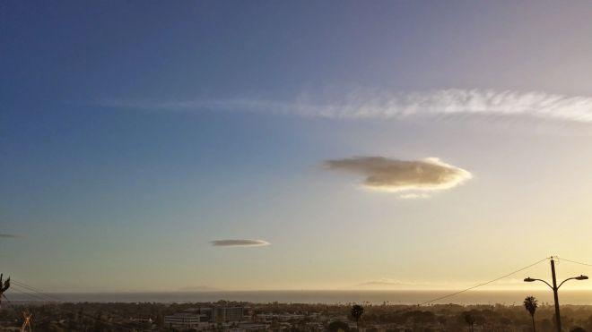 Clouds over Ventura