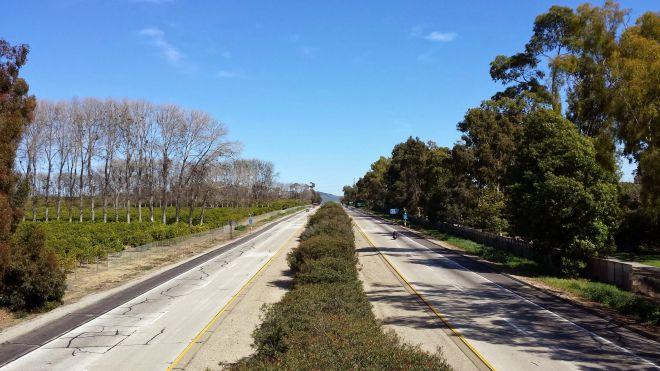 The way to Santa Paula