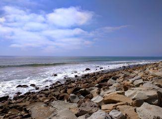 Pacific Ocean from Faria Beach Park